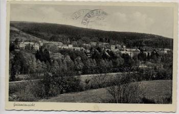 AK Foto Weilmünster im Taunus Gesamtansicht 1960