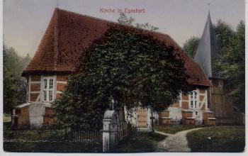 AK Egestorf Kirche Lüneburger Heide 1920
