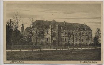 AK Wiedenbrück St. Josephs-Haus 1923 RAR