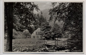 AK Waldschenke bei Stadtsteinach im Frankenwald 1935