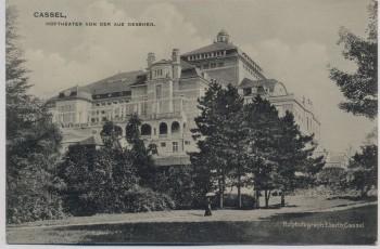 AK Kassel Cassel Hoftheater von der Aue gesehen 1910