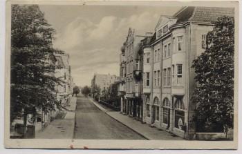 VERKAUFT !!!   AK Nordenham Hafenstrasse 1931 RAR