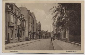 AK Nordenham Vinnenstraße mit Apotheke und Geschäft 1929 RAR