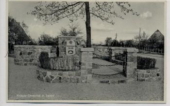 VERKAUFT !!!   AK Selent in Schleswig-Holstein Krieger-Ehrenmal 1930 RAR