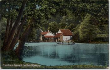 AK Forsthaus Isenach bei Bad Dürkheim 1919