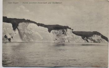 AK Insel Rügen Partie zwischen Kieler Bach und Kolicker Ort Stubbenkammer Sassnitz 1924