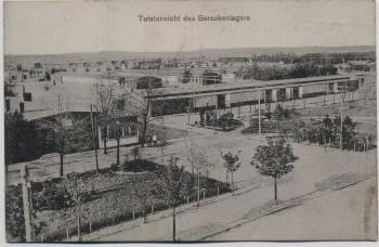 AK Gruß aus Altengrabow Barackenlager Totalansicht 1910