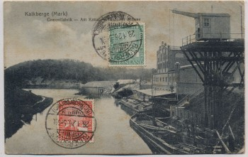 AK Kalkberge (Mark) Zementfabrik Tasdorfer Straße bei Rüdersdorf 1926