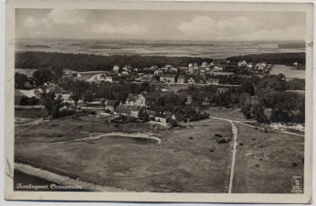 AK Foto Grünewalde Luftbild Fliegeraufnahme mit Waldschlößchen bei Schöneck 1936 RAR