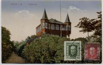 AK Česká Lípa Böhmisch Leipa Kahleberg Böhmen Tschechien 1926