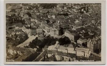 AK Foto Görlitz Fliegeraufnahme Totale Ortsansicht 1930