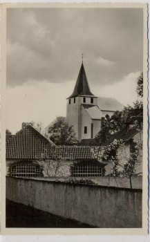 AK Foto Kronenburg bei Dahlem Kirche Eifel 1940