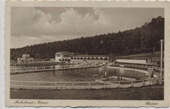 AK Michelstadt im Odenwald Stadion Schwimmbad 1937