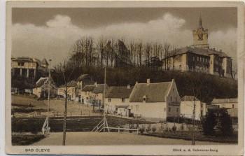 AK Bad Cleve Kleve Blick auf die Schwanenburg 1919