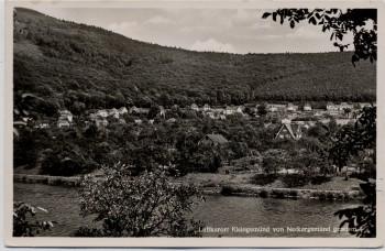 AK Foto Kleingemünd von Neckargemünd gesehen 1940
