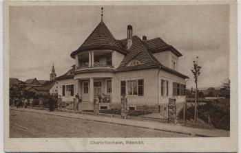 AK Römhild in Thüringen Charlottenheim 1917
