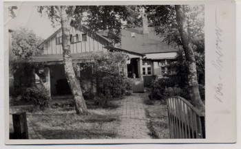 AK Foto Ostseebad Prerow Hausansicht Darß 1935