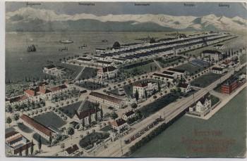 AK Gruss vom Truppenübungsplatz Lager Lechfeld 1910