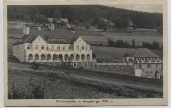 AK Giehren Gierczyn Förstelbaude im Isergebirge b. Friedeberg Mirsk Schlesien Polen 1930