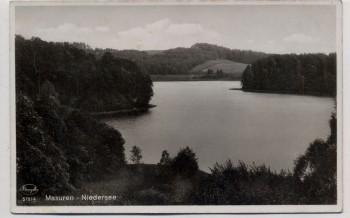 AK Foto Niedersee Ruciane-Nida Rudczanny Masuren Ostpreußen Polen Feldpost 1941