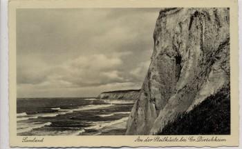 AK Foto Samland An der Steilküste bei Groß Dirschkeim Donskoje Ostpreußen Russland 1934