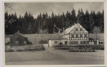 AK Neudorf bei Sehmatal Jugendherberge an der Dierenstraße 1946