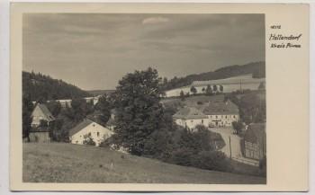 AK Foto Hellendorf Bahratal Ortsansicht 1954