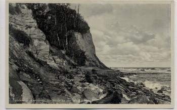AK Samland Warnicken Lesnoje bei Groß Kuhren Primorje Steilküste an der Wolfsschlucht Ostpreußen Russland 1935