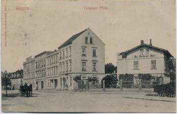 AK Wurzen Torgauer Platz 1906 RAR