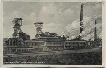AK Recklinghausen Zeche General Blumenthal 1930