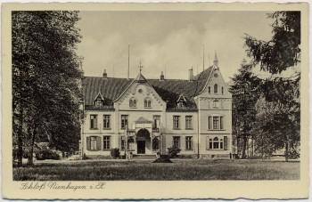 AK Nienhagen (Landkreis Celle) Schloß 1935