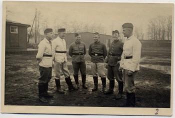 AK Foto Ihlienworth Baracken Arbeiter RAD Abteilung Wilder Jäger Wode 4/173 1935 RAR