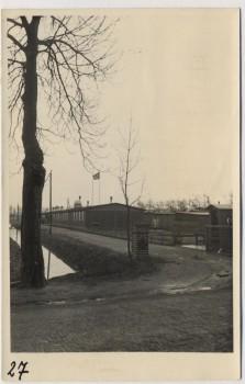 AK Foto Ihlienworth Baracken RAD Abteilung Wilder Jäger Wode 4/173 1935 RAR