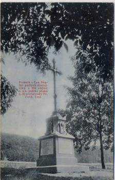AK Česká Skalice Böhmisch Skalitz Denkmal 1866 Tschechien 1910