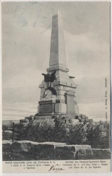 AK Vysokov Wysokow bei Náchod Schlachtfeld bei Königgrätz 1866 Denkmal Tschechien 1910
