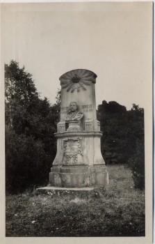AK Foto Probluz bei Hradec Králové Schlachtfeld bei Königgrätz 1866 Denkmal Albert von Sachsen Tschechien 1930
