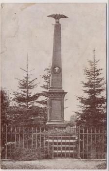 AK Bojiště u Hradec Králové Schlachtfeld bei Königgrätz 1866 Denkmal Tschechien 1930