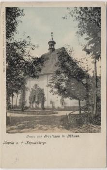 AK Gruss aus Trautenau Trutnov Kapelle 1866 Böhmen Tschechien 1902