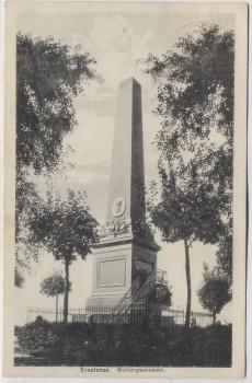 AK Trautenau Trutnov Gablenzmonument 1866 Böhmen Tschechien 1928