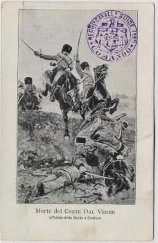 AK Custoza Patriotika Schlacht bei Custozza 1866 Italien 1910