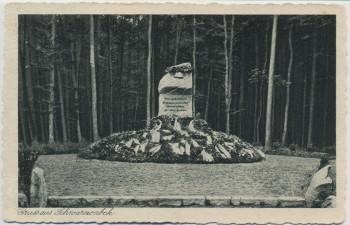 AK Gruss aus Schwarzenbek in Schleswig-Holstein Kriegerdenkmal 1940 RAR
