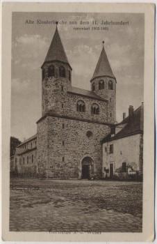 AK Bursfelde a. d. Weser Klosterkirche bei Hann. Münden 1920
