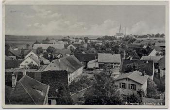 AK Scheuring bei Landsberg Ortsansicht 1942