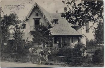 AK Bartenheim Jagdhaus Meyer Stutz Elsass Haut-Rhin Frankreich 1915 RAR