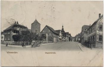 AK Winnenden Wagnerstraße 1917 RAR