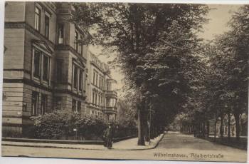 AK Wilhelmshaven Adalbertstraße Feldpost 1916