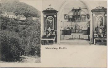 AK Pfaffenheim Schauenberg Wallfahrtskapelle Haut-Rhin Elsass Frankreich 1912