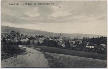 AK Gruß aus Gottsbüren im Reinhardtswald Ortsansicht bei Trendelburg 1932