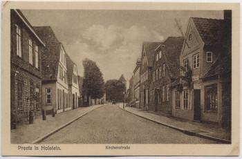 AK Preetz in Holstein Kirchenstraße 1910 RAR