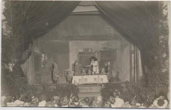 AK Foto Erlangen Theater Märchen Schneewittchen und die sieben Zwerge 1914